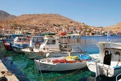 Het eiland van Halki, Griekenland Royalty-vrije Stock Afbeelding