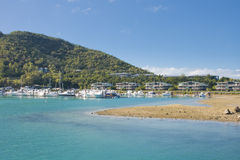 Het eiland van Hamilton Royalty-vrije Stock Foto
