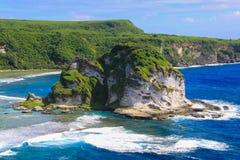 Het eiland van het landschapszeegezicht Royalty-vrije Stock Afbeeldingen