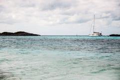 Het eiland van het paradijs Royalty-vrije Stock Afbeeldingen