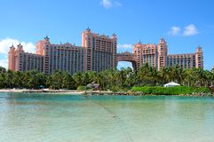 Het Eiland van het Paradijs van Atlantis, de Bahamas Stock Foto