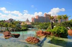 Het Eiland van het Paradijs van Atlantis, de Bahamas stock afbeelding