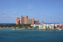 Het Eiland van het Paradijs van de Bahamas Stock Afbeelding