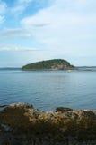 Het Eiland van het stekelvarken, Acadia Nationaal Park, Maine Royalty-vrije Stock Fotografie