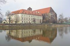 Het Eiland van het zand - Wroclaw Stock Afbeelding