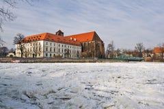 Het Eiland van het zand - Wroclaw Stock Fotografie