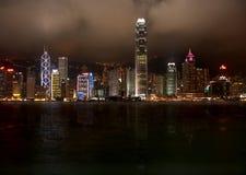 Het Eiland van Hongkong Stock Afbeelding