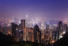 Het eiland van Hongkong stock afbeeldingen