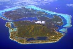 Het eiland van Huahine royalty-vrije stock afbeelding