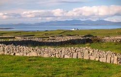 Het eiland van Inishmore, Ierland Stock Foto