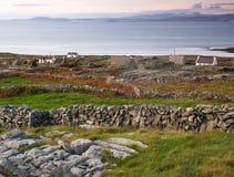 Het eiland van Inishmore, Ierland Stock Fotografie