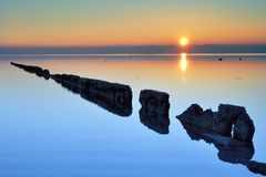 Het Eiland van Italië Grado Royalty-vrije Stock Fotografie