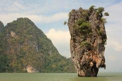 Het eiland van James Bond. Thailand. Stock Fotografie