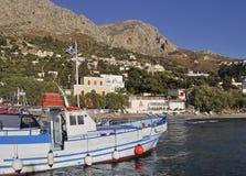 Het Eiland van Kalymnos, Griekenland stock afbeelding