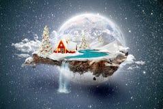 Het eiland van Kerstmis Royalty-vrije Stock Foto