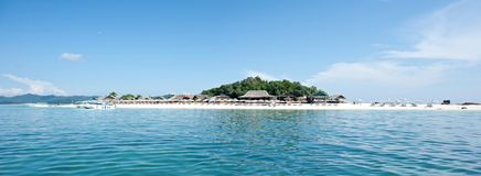Het eiland van Khai Stock Afbeelding