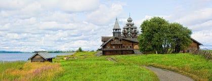 Het Eiland van Kizhi stock afbeeldingen