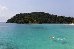 Het eiland van Kochang, Thailand Stock Afbeelding