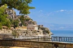 Het eiland van Korfu in Griekenland Stock Afbeeldingen