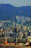 Het eiland van Kowloon, Hongkong royalty-vrije stock fotografie