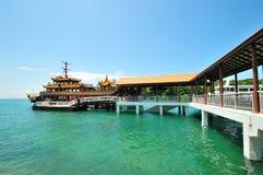 Het eiland van Kusu - Singapore Stock Fotografie