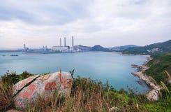 Het Eiland van Lamma, Hongkong stock foto