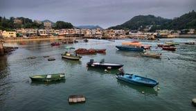 Het Eiland van Lamma in Hongkong royalty-vrije stock fotografie