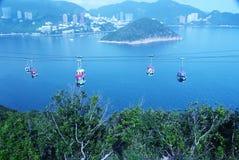 Het Eiland van Lantau, Hongkong Stock Foto's
