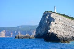 Het eiland van Lefkada, Griekenland Royalty-vrije Stock Afbeeldingen