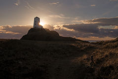 Het Eiland van Llandwyn stock afbeeldingen