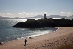 Het Eiland van Llandwyn royalty-vrije stock foto's