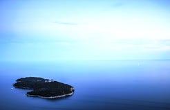 Het Eiland van Lokrum, Kroatië Stock Fotografie