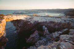 Het Eiland van Mallorca is grootst van de Balearen stock fotografie