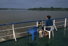Het eiland van Marajo. Brazilië Stock Afbeelding