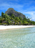 Het eiland van Mauritius Stock Afbeeldingen