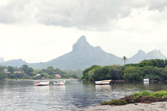 Het eiland van Mauritius Royalty-vrije Stock Afbeeldingen