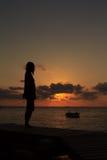 Het eiland van Monnok, Thailand Stock Afbeelding