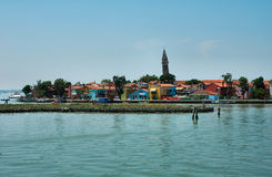 Het eiland van Murano Royalty-vrije Stock Foto's