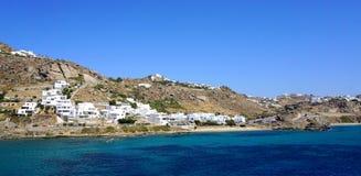 Het eiland van Mykonos Royalty-vrije Stock Afbeeldingen