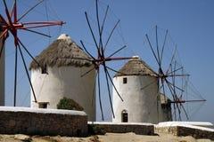 Het Eiland van Mykonos, Griekenland Stock Fotografie