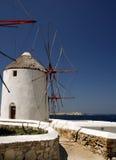 Het Eiland van Mykonos, Griekenland Royalty-vrije Stock Foto