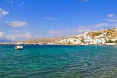 Het Eiland van Mykonos, Griekenland Stock Foto