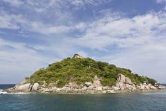 Het eiland van Nangyuan Stock Foto