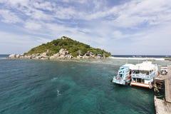 Het eiland van Nangyuan Royalty-vrije Stock Foto's