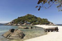Het eiland van Nangyuan Stock Foto's