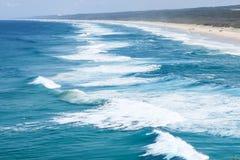 Het Eiland van het noordenstradbroke, Queensland, Australië stock foto's