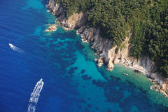 Het eiland van nord-Elba van Costa Stock Afbeelding