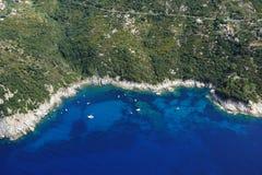 Het eiland van nord-Elba van Costa Stock Foto