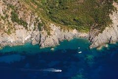 Het eiland van nord-Elba van Costa Stock Afbeeldingen
