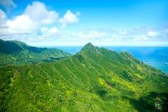 Het eiland van Oahu, Hawaï stock afbeelding